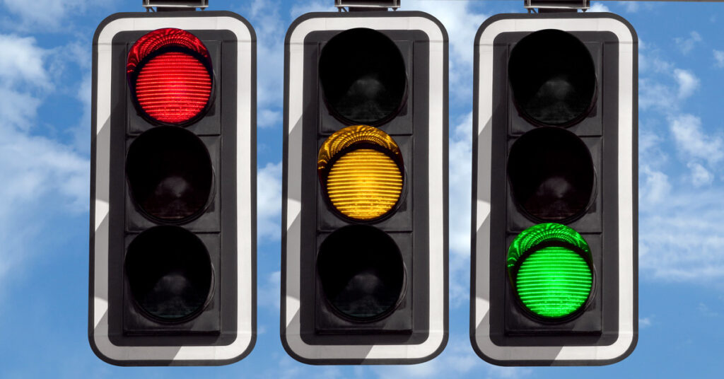 traffic light system for foreign travel